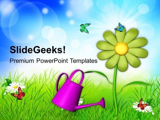 Green energy PowerPoint Themes