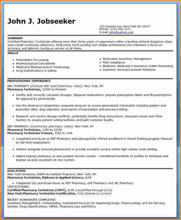 10+ good resume sample for experienced | Invoice Template Download
