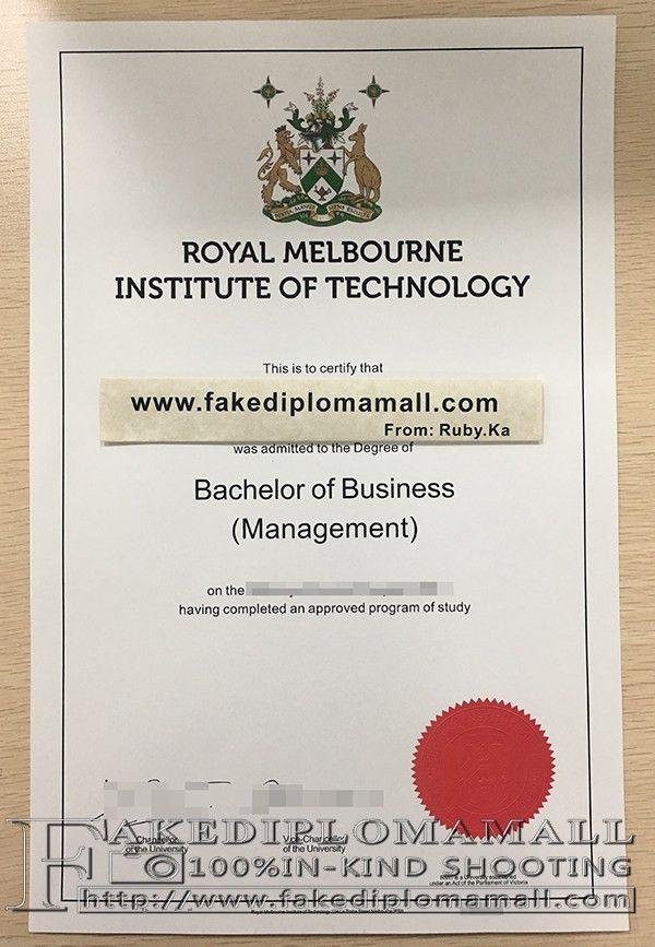 buy RMIT University fake degree certificate_Buy degree|buy ...