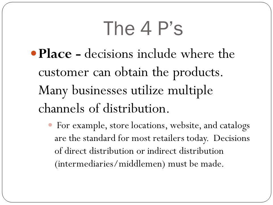 THE MARKETING MIX Product Place Price Promotion - ppt video online ...