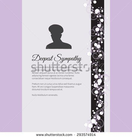 Funeral Card Stock Images, Royalty-Free Images & Vectors ...