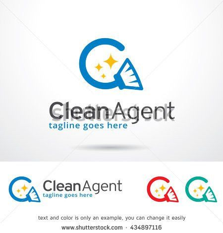 Clever Letter C Logo Template Design Stock Vector 356978606 ...