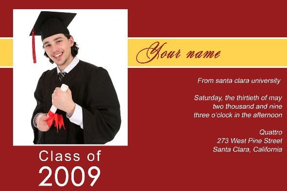 Graduate Invites: Stylish Graduation Invitations Templates Free ...