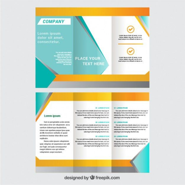 tri fold brochure template free download free tri fold brochure ...