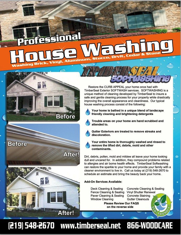 Home Exterior Cleaning Services Wonderful Residential Pressure ...