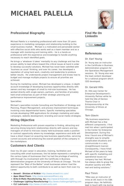 Business Development Director Resume samples - VisualCV resume ...