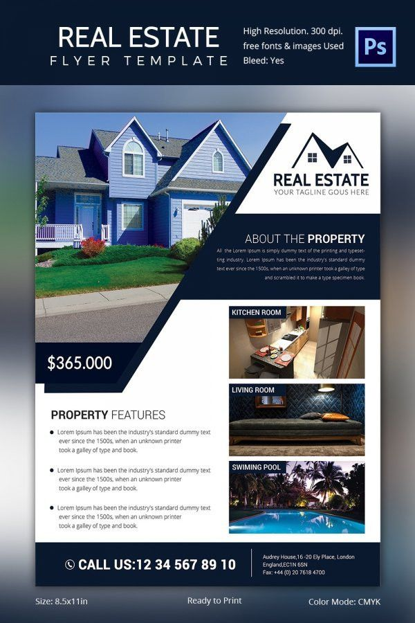 Realtor Flyer Template | Template Design