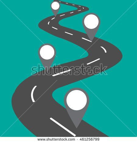 Blank Road Map Stock Images, Royalty-Free Images & Vectors ...