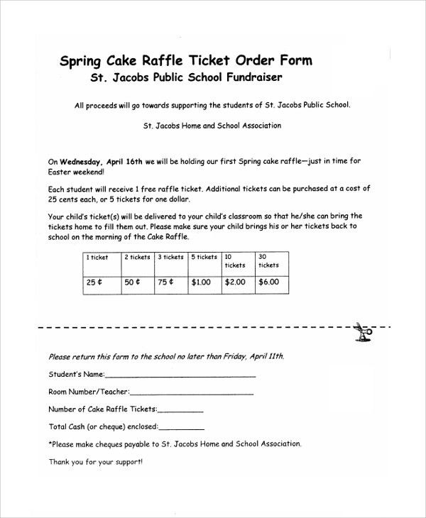 how to make raffle ticket