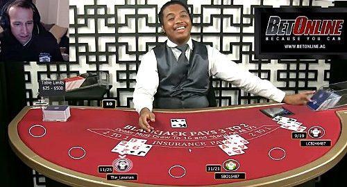 Video appears to show BetOnline live blackjack dealer cheating ...