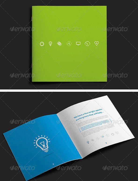 30 Best Brochure Templates 2013   Web & Graphic Design   Bashooka