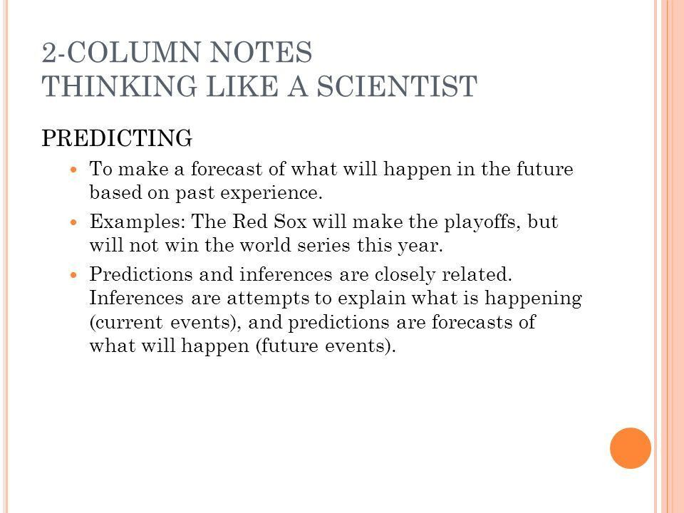 TODAY'S AGENDA 9/12 UNIT 1: Thinking Like A Scientist FTF - ppt ...