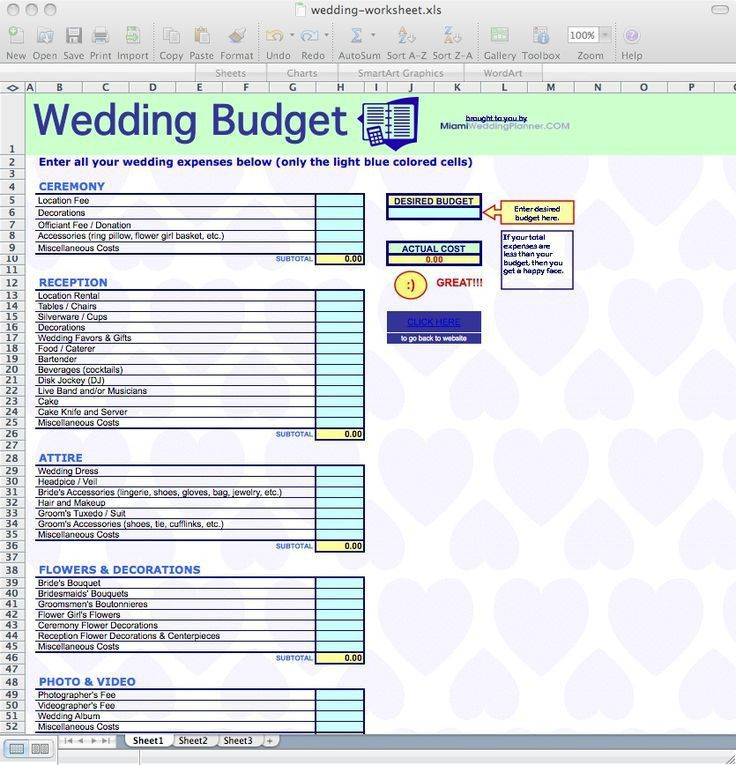 Best 25+ Wedding spreadsheet ideas on Pinterest | Wedding budget ...