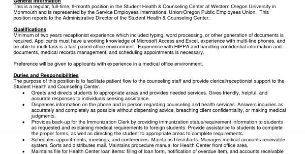 receptionist resume example 9 free word pdf documents download ...