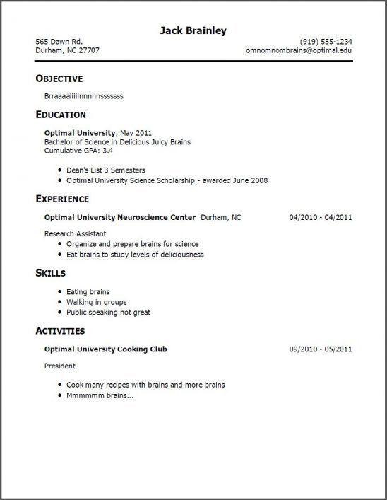 No Experience Resume. Job Resume Examples No Experience Job Resume ...
