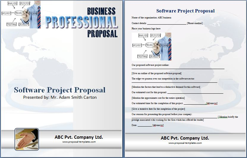 Software Project Proposal Template Free | Proposal Templates
