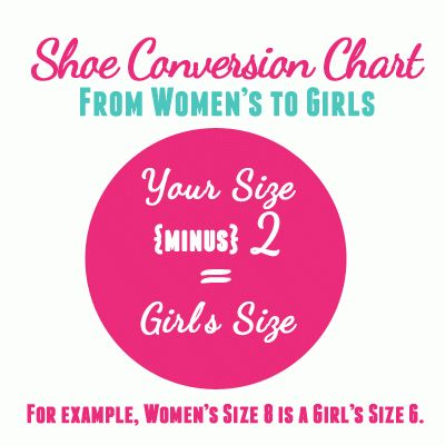 Losetheshoes Shoe Size Conversion Chart - unisa shoes