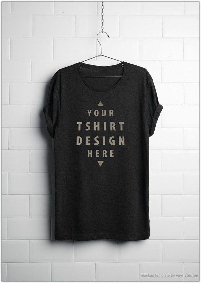 55+ Amazing Free T-Shirt Mockup PSD Templates - Web Creative All