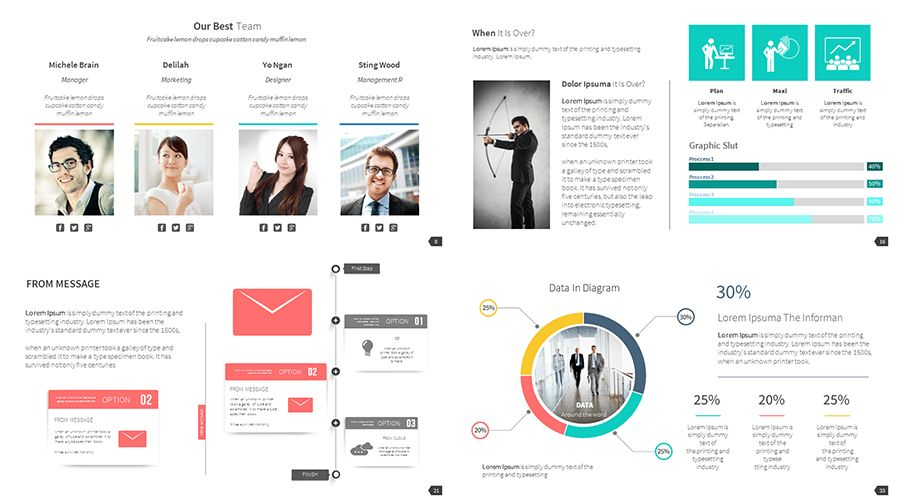 presentation template for business proposal free business case ...