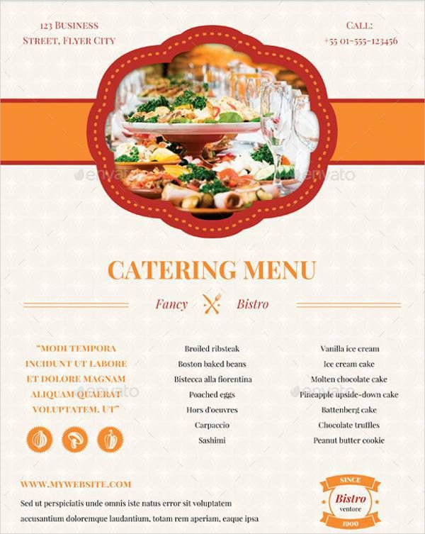 7+ Banquet Menu Templates - PSD, Vector EPS, AI Illustrator ...