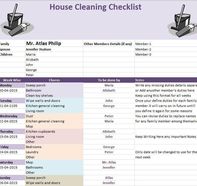 The 25+ best Checklist template ideas on Pinterest | House ...