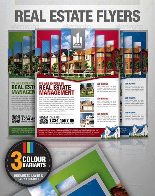 14 Awesome Real Estate Flyer Templates | Wakaboom