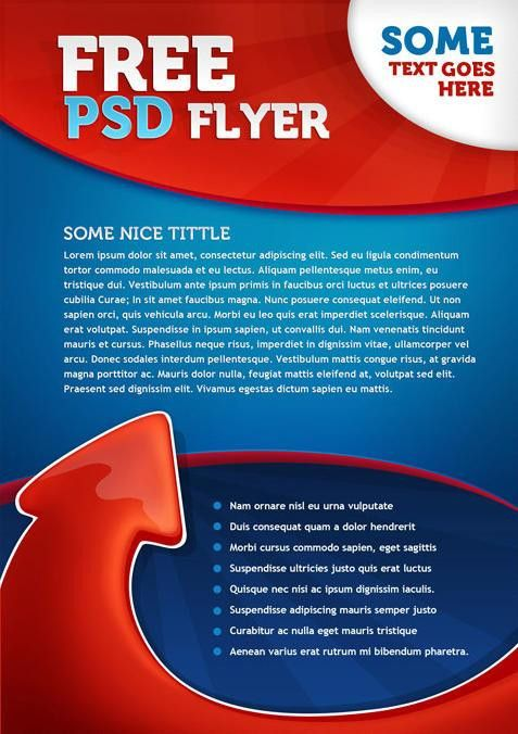 Free Flyers Templates | cyberuse