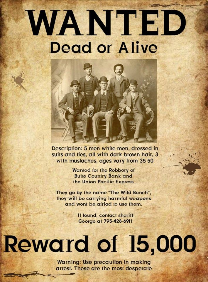 Wanted Poster   Free Download Clip Art   Free Clip Art   on ...