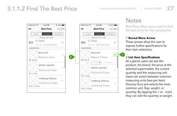 Grocery List App UX Design on Behance