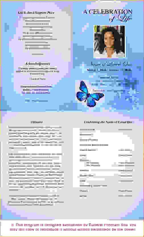 6 free funeral program templateAgenda Template Sample | Agenda ...