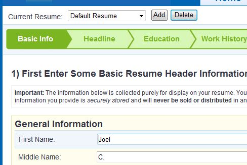 Resume Builder | Easily Build A Resume That DEMANDS Attention