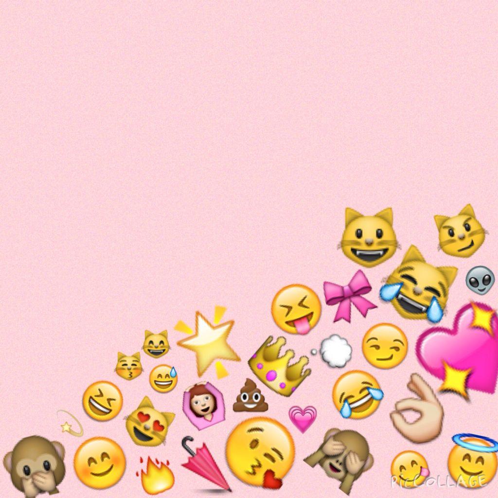 emoji we heart it backgrounds
