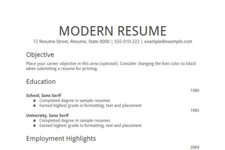 resume examples for skilled trades blue collar resume templates ...