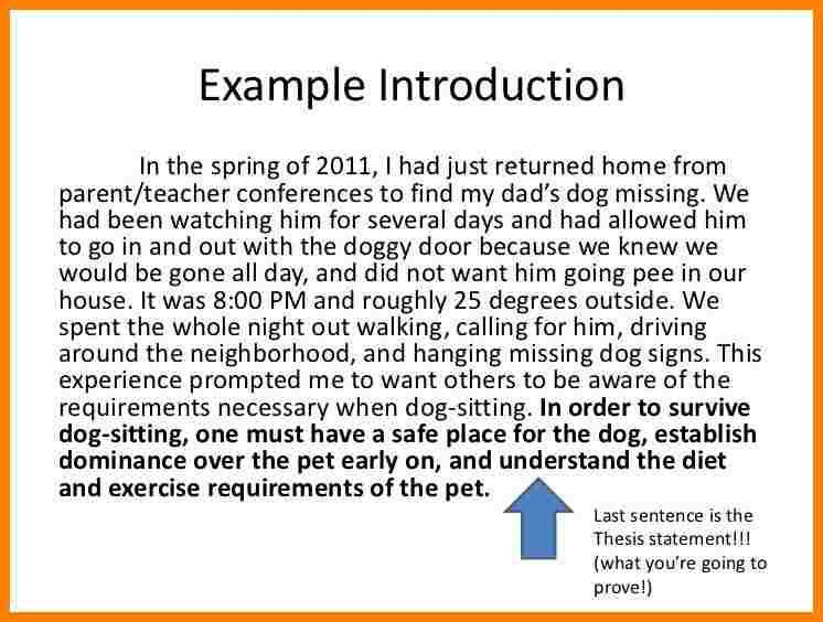 7+ introduction paragraph examples about yourself | Introduction ...