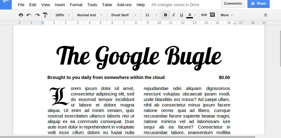 Book Template Google Docs | Template Design