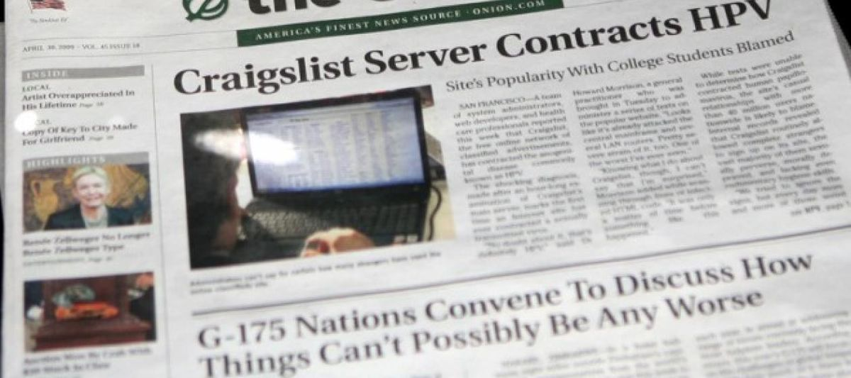 The Onion's 25th anniversary: 10 of our favorite stories