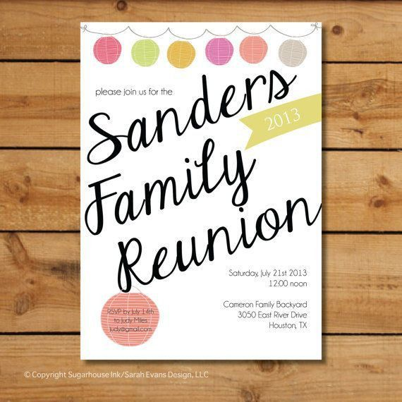 27 best Reunion images on Pinterest | Family reunions, Family ...