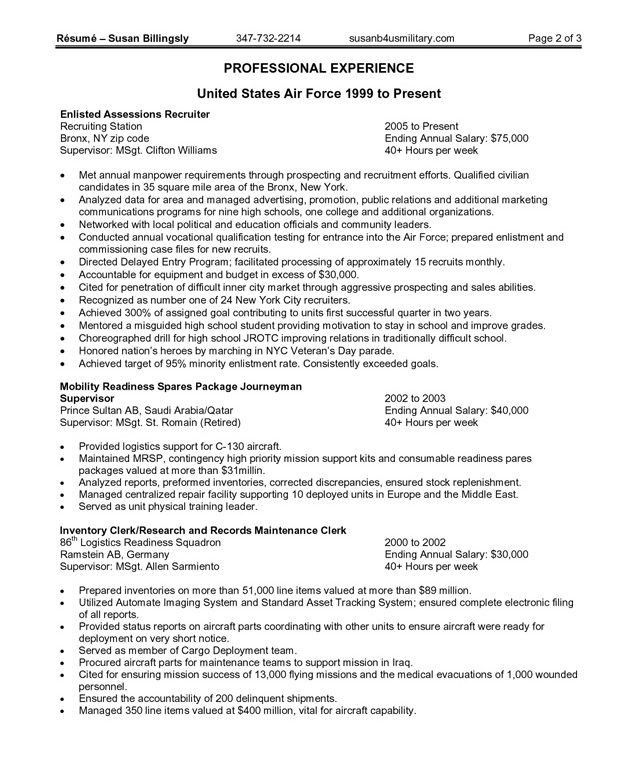 Very Attractive Design Federal Government Resume Template 9 ...