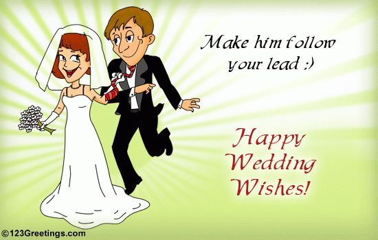 Wedding Card On Wishes. Free Wishes eCards, Greeting Cards | 123 ...