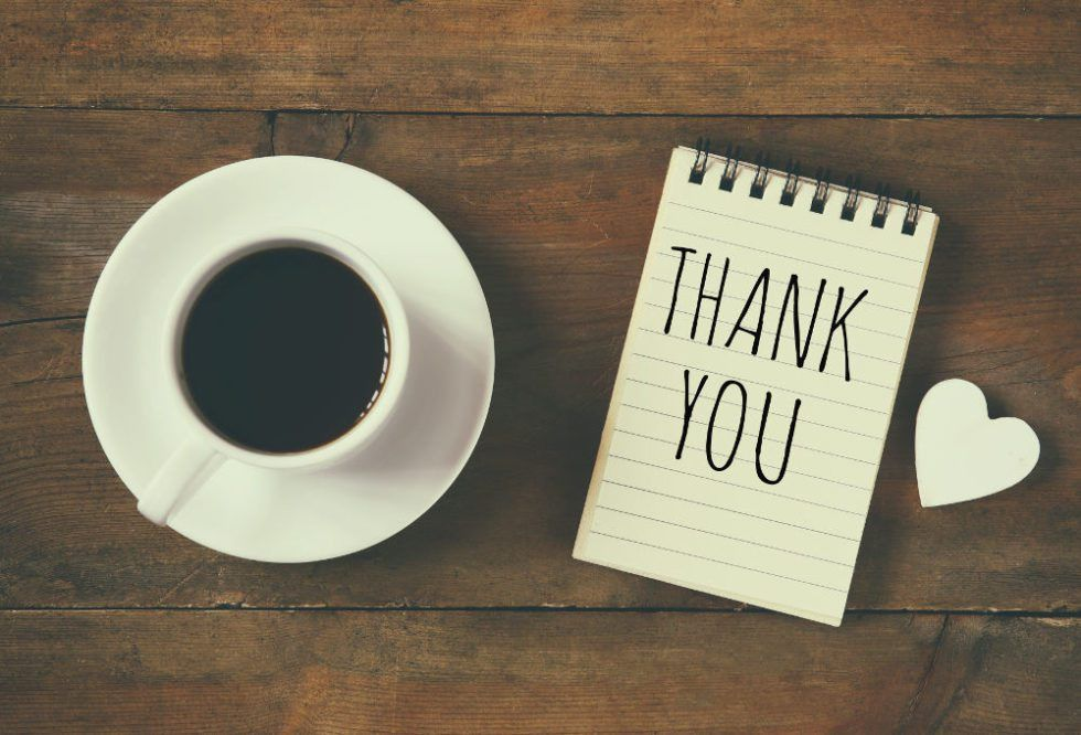 Write the perfect thank you note for your boss – Café Quill