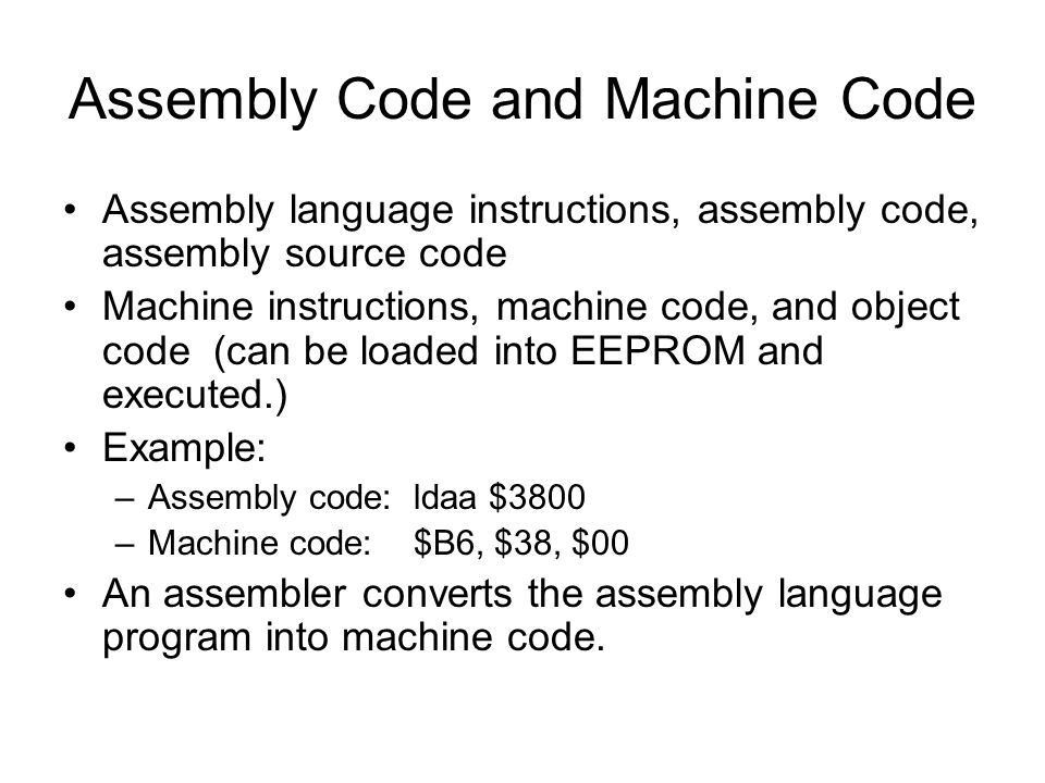 Ch.2 Intro. To Assembly Language Programming - ppt download