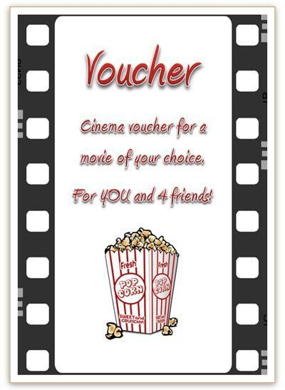 Best 25+ Cinema vouchers ideas on Pinterest | Clever valentines ...