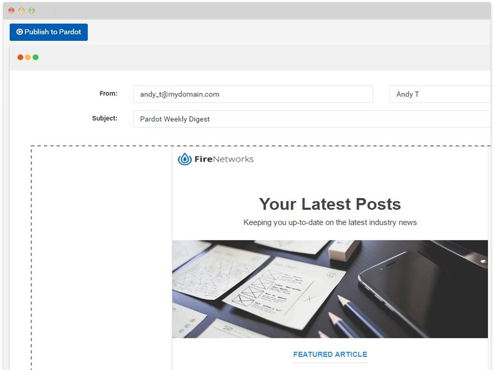 Pardot Blog Digest Software - RSS Blog Digests and Content Newsletters