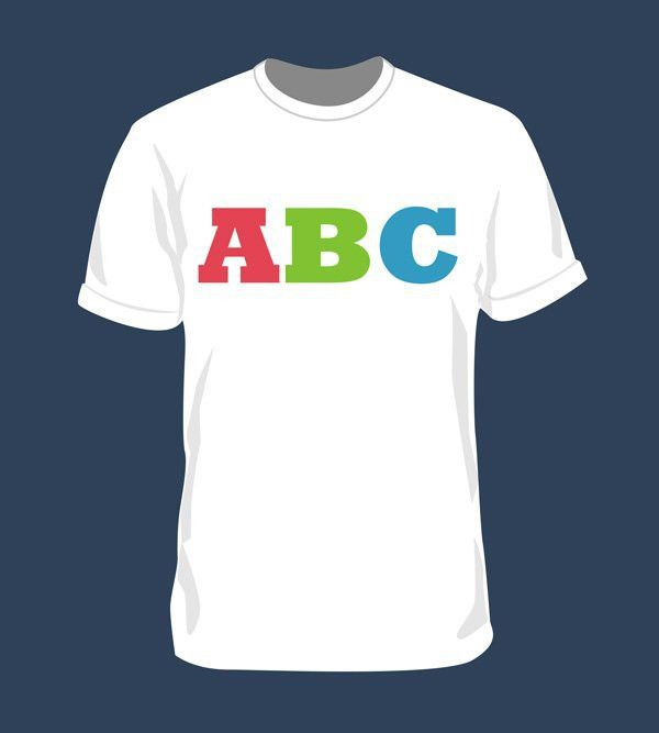 Blank T-Shirt Mockup Template (PSD), free vector - 365PSD.com