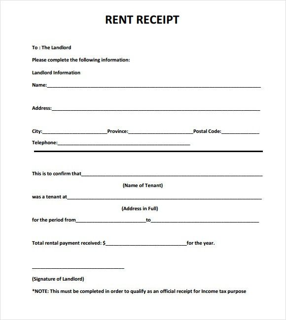 Professional Rent Bill Template Samples : vlashed