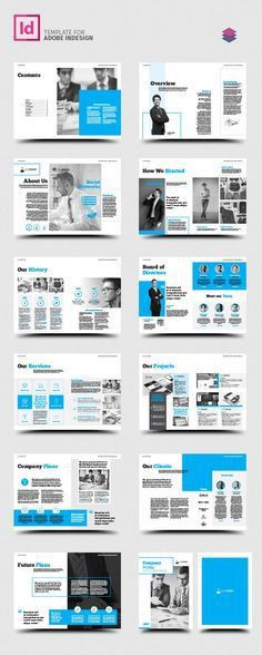 Company Profile Brochure 2017 Template InDesign INDD | Company ...