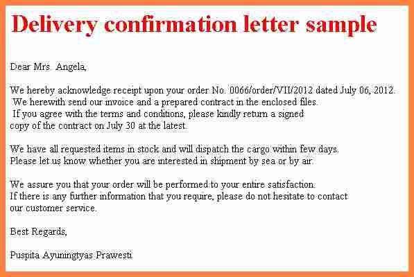 19+ Sample Of Job Confirmation Letter   Internship,10 Confirmation ...