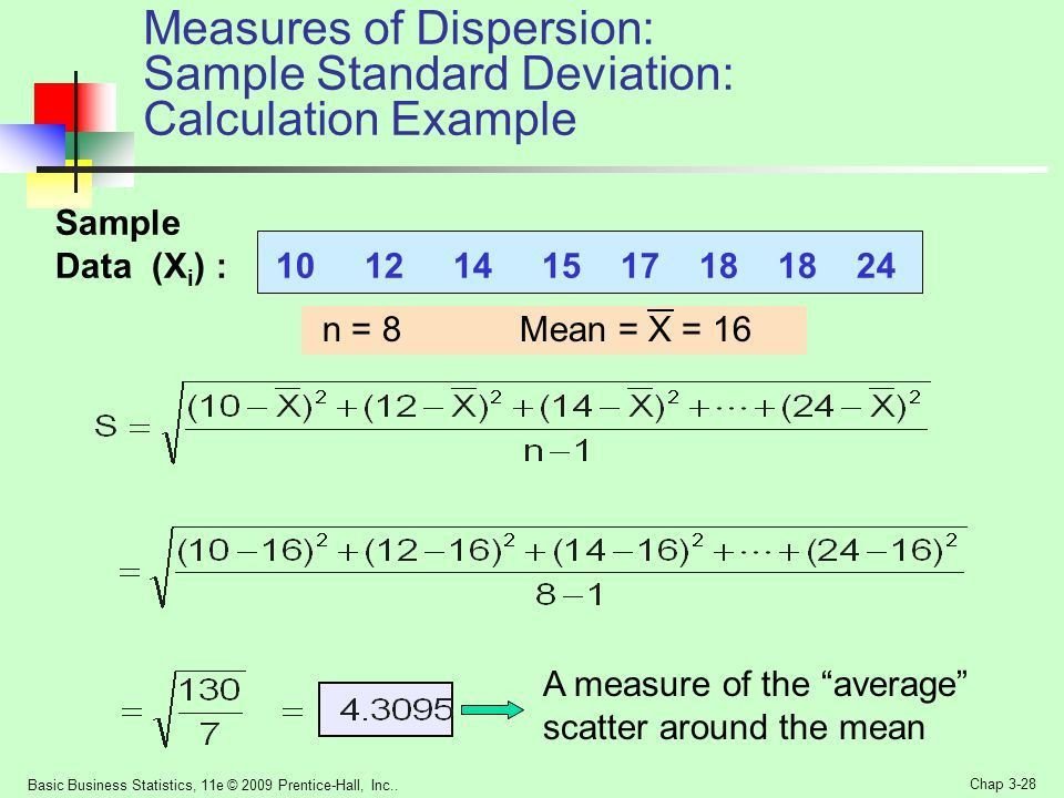 Measures of Dispersion - ppt video online download