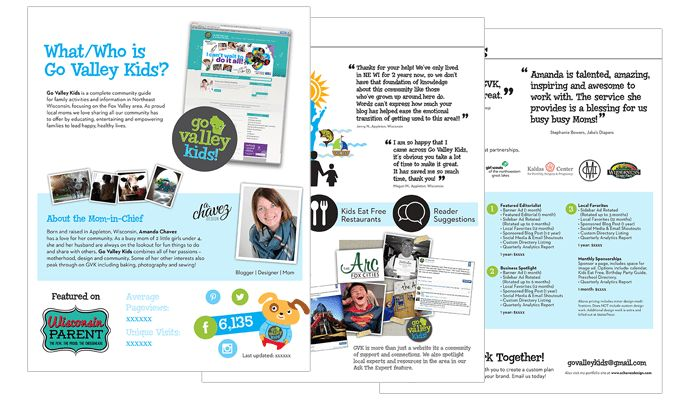 10 Inspiring Media Kits from Bloggers - Blog Clarity
