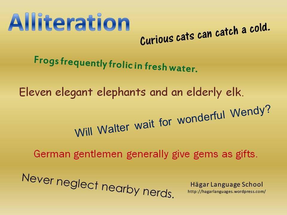 literary devices in English | Hägar Language School